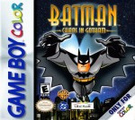 GameBoy Color - Batman: Chaos in Gotham (front)