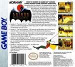 GameBoy - Batman: The Animated Series (back)