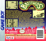 GameBoy - Battletoads (back)