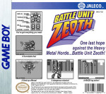 GameBoy - Battle Unit Zeoth (back)
