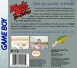 GameBoy - Black Bass Lure Fishing (back)