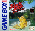 GameBoy - Black Bass Lure Fishing (front)
