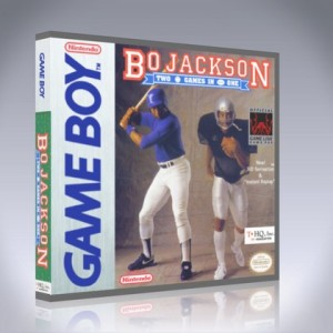 GameBoy - Bo Jackson: Two Games in One