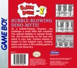 GameBoy - Bubble Bobble Part 2 (back)