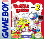 GameBoy - Bubble Bobble Part 2 (front)