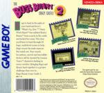 GameBoy - Bugs Bunny: Crazy Castle 2 (back)
