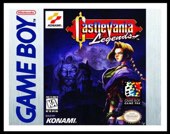 GameBoy - Castlevania Legends Poster