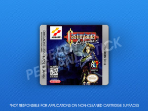GameBoy - Castlevania Legends Label