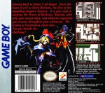 GameBoy - Castlevania: Legends (back)