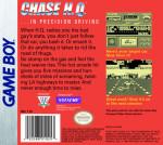 GameBoy - Chase H.Q. (back)