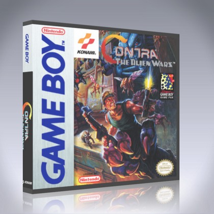 GameBoy - Contra: The Alien Wars