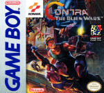 GameBoy - Contra: The Alien Wars (front)