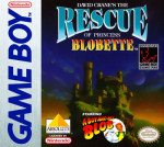 GameBoy - David Crane's The Rescue of Princess Blobette (front)