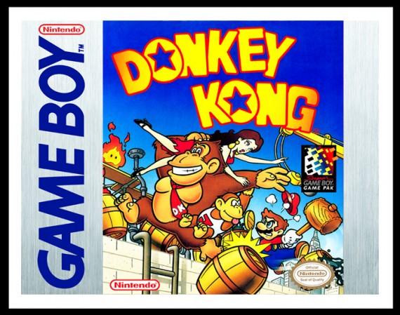 GameBoy - Donkey Kong Poster