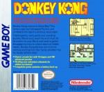 GameBoy - Donkey Kong (back)