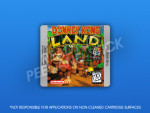 GameBoy - Donkey Kong Land Label