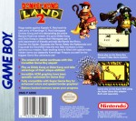 GameBoy - Donkey Kong Land 2 (back)