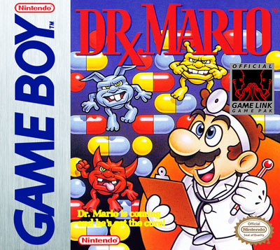 gameboy dr mario custom game case retro game cases