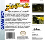 GameBoy - Duck Tales 2 (back)