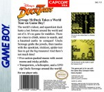 GameBoy - Duck Tales (back)