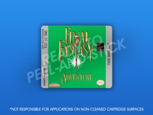 GameBoy - Final Fantasy Adventure Label
