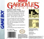 GameBoy - Gargoyle's Quest (back)