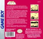 GameBoy - Go! Go! Tank (back)