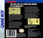 GameBoy - Gremlins 2: The New Batch (back)