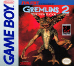GameBoy - Gremlins 2: The New Batch (front)