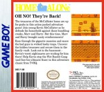 GameBoy - Home Alone (back)
