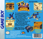 GameBoy - The Incredible Crash Dummies (back)
