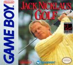GameBoy - Jack Nicklous Golf (front)