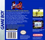 GameBoy - Killer Instinct (back)