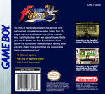 GameBoy - King of Fighters 95, The (back)