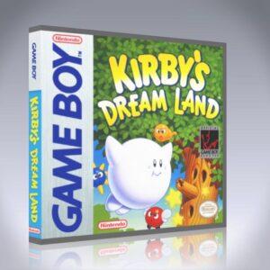 GameBoy - Kirby's Dream Land