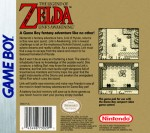 GameBoy - Legend of Zelda: Link's Awakening (back)