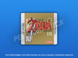 GameBoy - Legned of Zelda: Link's Awakening DX Label