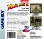 GameBoy - Mega Man III (back)