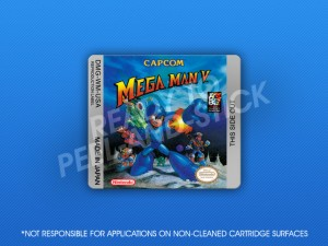 GameBoy - Mega Man V Label