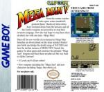 GameBoy - Mega Man V (back)