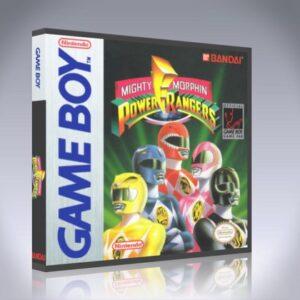 GameBoy - Mighty Morphin Power Rangers