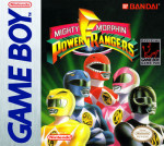 GameBoy - Mighty Morphin Power Rangers (front)