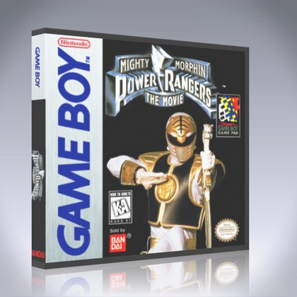 GameBoy - Mighty Morphin Power Rangers: The Movie