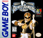 GameBoy - Mighty Morphin Power Rangers: The Movie (front)