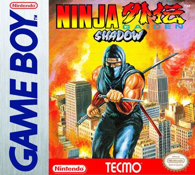 Gameboy Ninja Gaiden Shadow Custom Game Case Retro Game Cases