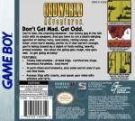 GameBoy - Oddworld Adventures (back)