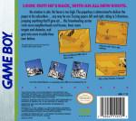 GameBoy - Paperboy 2 (back)