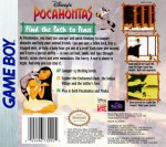GameBoy - Pocahontas, Disney's (back)