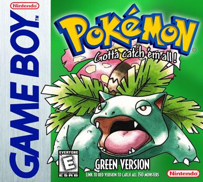 GameBoy - Pokemon Green Version Custom Game Case | Retro Game Cases