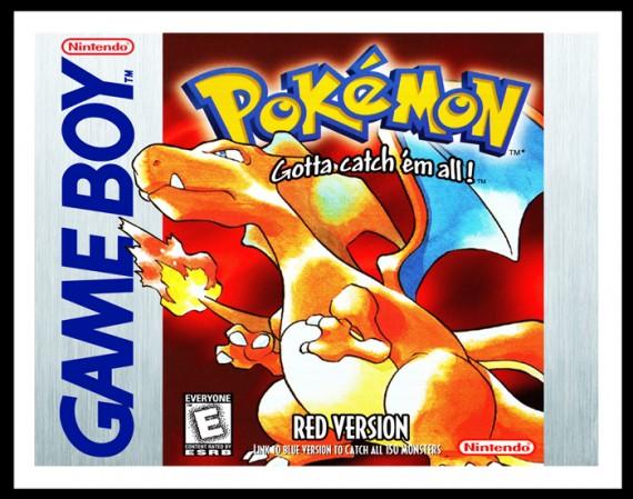 GameBoy - Pokemon Red Version Poster